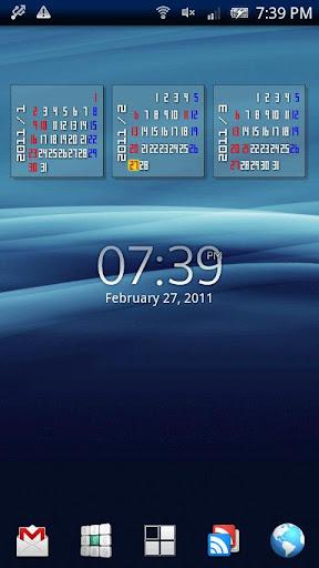 Calendar Launcher Pro
