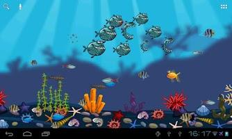 Screenshot of Aquarium Live Wallpaper Free