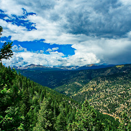 view from gold mountain by Charles Saunders - Novices Only Landscapes ( mountain, colorado, gold, boulder, storm )