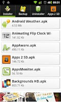 Screenshot of appSaver