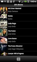 Screenshot of Music Player V2