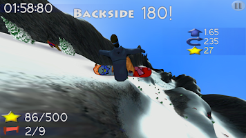 Screenshot of Big Mountain Snowboarding