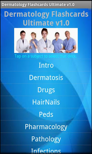 【免費醫療App】Dermatology Flashcards Ultimat-APP點子