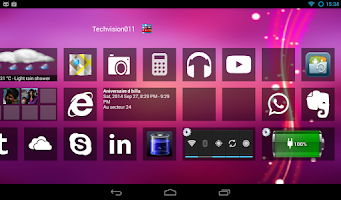 Screenshot of Home8+like Windows8 Windows 8