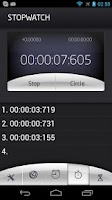 Screenshot of World time with alarm