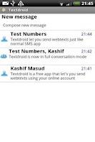 Screenshot of Textdroid