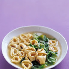 Tortellini in Broth with Escarole