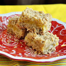 Pineapple Oat Bars