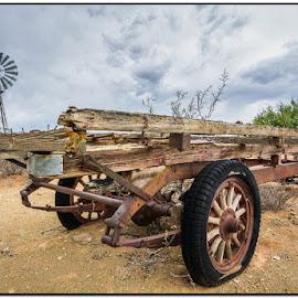 Old transport - new tyres by Wessel Badenhorst - Transportation Other