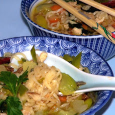 Chicken Noodle Soup With an Asian Touch