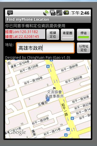 Free GPS Auto SOS SMS CALL
