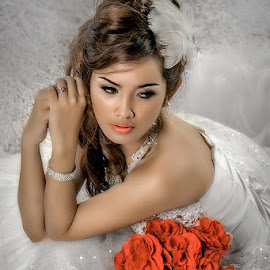 by Edy Djunarko - Wedding Bride