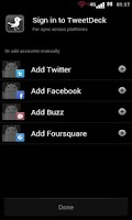 Screenshot of TweetBlackGray Tweetdeck Free