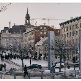 Old Montreal by Romel Velasco - Landscapes Travel ( montreal oldmontreal )