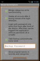 Screenshot of Secret Wallet Password Manager