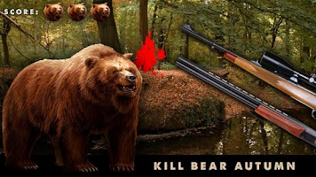 Screenshot of Kill Bear Autumn