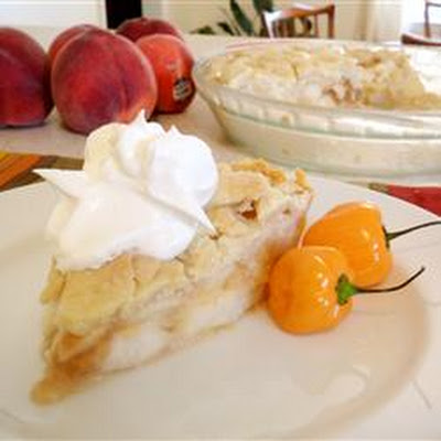 Greg's Hot Peach Pie