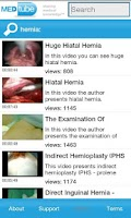 Screenshot of MEDtube Medical Videos