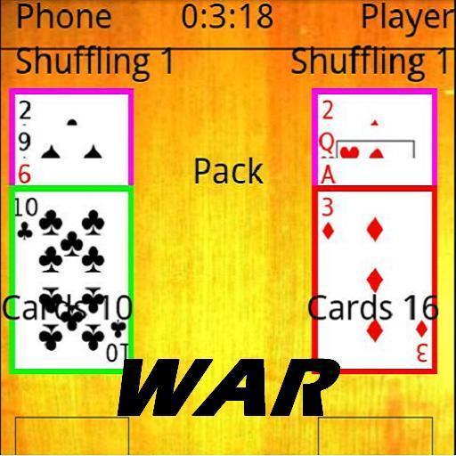War Card Game LOGO-APP點子