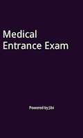 Screenshot of NEET medical entrance exam