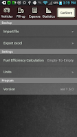 Screenshot of CarStory - Car Management,Fuel