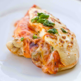 Stuffed Chicken Parmesan