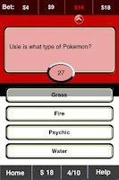 Screenshot of Pokemon FunBlast! Trivia LT