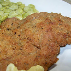 Fried Pork Chops With Herb Breading
