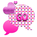 GO SMS THEME/HeartsNClouds4U icon