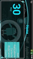 Screenshot of Cyanogen Theme for ssLauncher