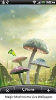 Screenshot of Magic Mushrooms Live Wallpaper