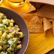 Pineapple and Cucumber Guacamole Recipe