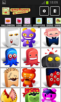 Screenshot of Emoticons Whats app
