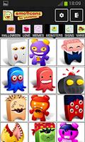 Screenshot of Emoticons Whats app