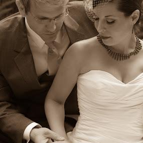 by Kelly Maize - Wedding Bride & Groom