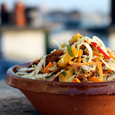 Chicken Mango Slaw