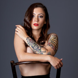 Kristina by Terry Mendoza - People Body Art/Tattoos ( person, people, tattoo,  )
