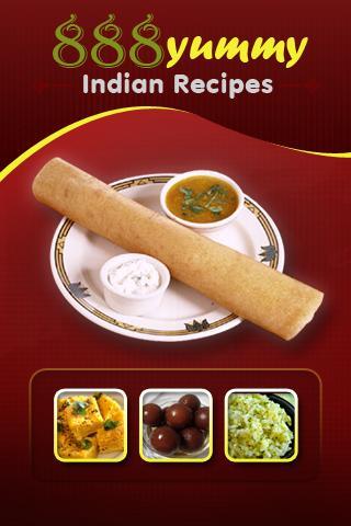 888 Yummy Indian Receipes