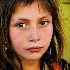 Stranger in a Strange Land by Fateen Younis - Babies & Children Child Portraits ( pakistan, fateen, chipurson, hunza, kkh, gb,  )