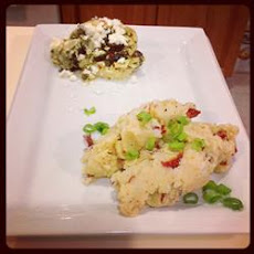 Stuffed Chicken Breasts with Artichoke Hearts, Feta Cheese, Capers, and Black Olives