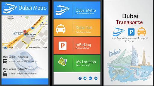 Dubai Transport- Parking Metro