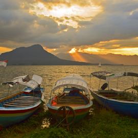 Parking by Sigit Purnomo - Transportation Boats