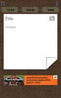 Screenshot of Kanban Board