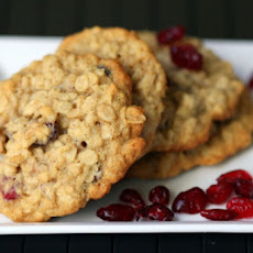 Orange Cranberry Oatmeal Cookies
