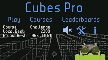 Screenshot of Cubes Pro