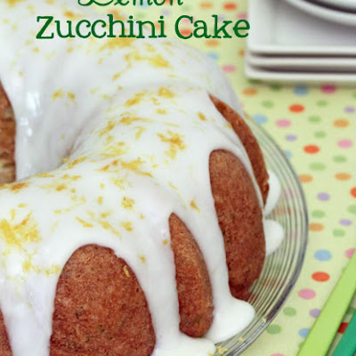 Lemon Sunshine Zucchini Bundt Cake