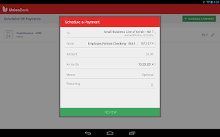 Screenshot of Union Bank Mobile Banking