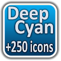 DeepCyan CM7 Theme +250 icons icon