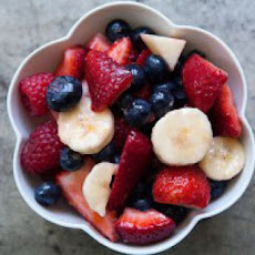 Mixed Berry and Banana Fruit Salad