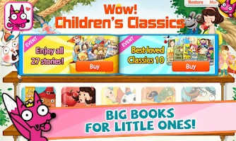 Screenshot of Wow! Children's Classics